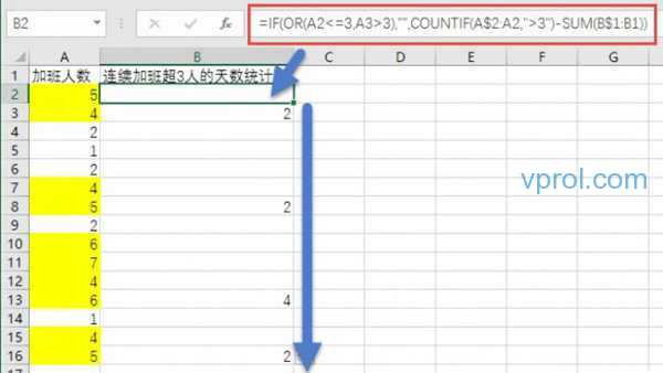 Excel倒减法搞定不规律统计