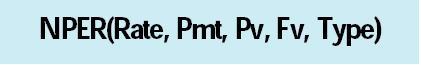EXCEL财务函数:NPER函数的运用