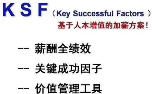 KSF增值加薪法